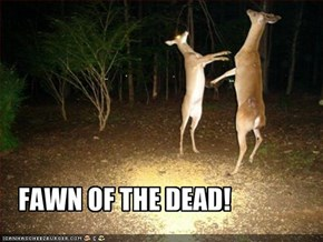 FAWN OF THE DEAD!