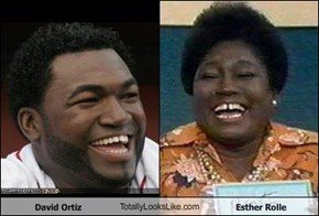 David Ortiz TotallyLooksLike.com Esther Rolle