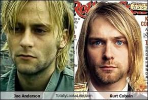 Joe Anderson TotallyLooksLike.com Kurt Cobain