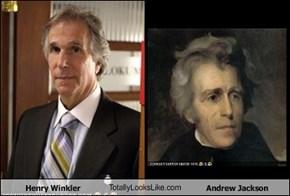 Henry Winkler TotallyLooksLike.com Andrew Jackson