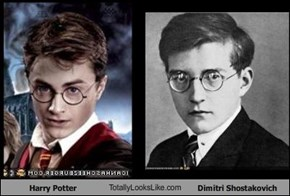 Harry Potter TotallyLooksLike.com Dimitri Shostakovich
