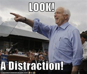 LOOK!  A Distraction!