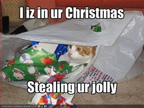 I iz in ur Christmas
