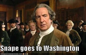 Snape goes to Washington