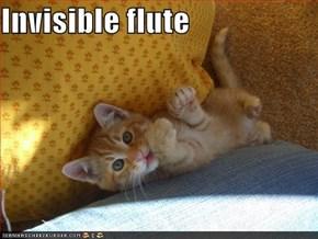 Invisible flute
