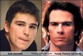 Josh Hartnett TotallyLooksLike.com Young Tommy Lee Jones