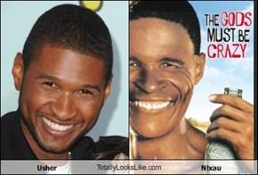 Usher TotallyLooksLike.com N!xau