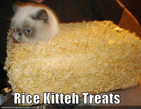 Rice Kitteh Treats