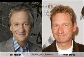 Bill Maher TotallyLooksLike.com Ryan Stiles
