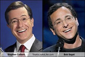 Stephen Colbert Totally Looks Like Bob Saget