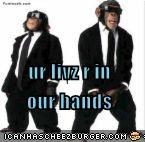 ur livz r in our hands