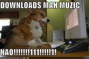 DOWNLOADS MAH MUZIC  NAO!!!!!!!111!!!!!1!