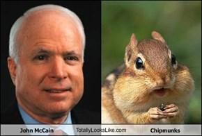John McCain TotallyLooksLike.com Chipmunks