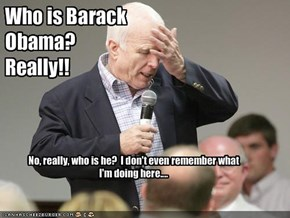 Who is Barack Obama?  Really!!
