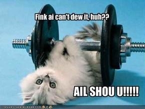 Fink ai can't dew it, huh??