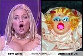 Kerry Katona TotallyLooksLike.com Inflatable Sex Doll