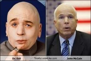 Dr. Evil TotallyLooksLike.com John McCain