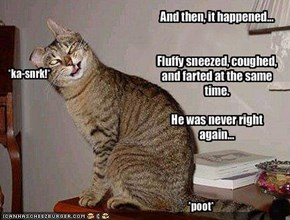 And then, it happened...