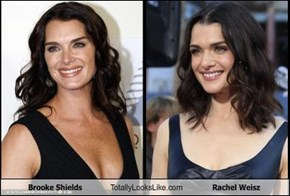 Brooke Shields Totally Looks Like Rachel Weisz