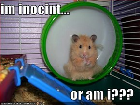 im inocint...  or am i???