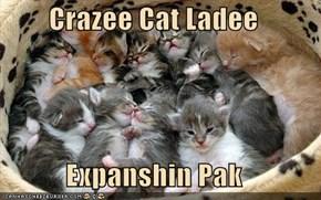 Crazee Cat Ladee  Expanshin Pak