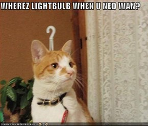 WHEREZ LIGHTBULB WHEN U NED WAN?