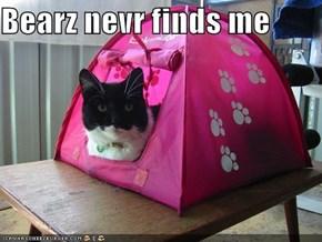 Bearz nevr finds me