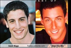 Jason Biggs Totally Looks Like Adam Sandler