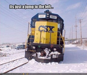 Its just a jump to the left...