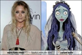 mary-kate olsen Totally Looks Like corpse bride