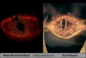 Newly Discovered Planet Totally Looks Like Eye Of Sauron