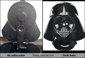 My coffee maker Totally Looks Like Darth Vader