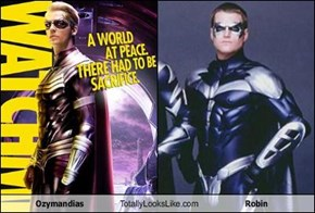 Ozymandias Totally Looks Like Robin