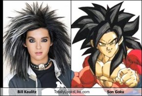 Bill Kaulitz Totally Looks Like Son Goku
