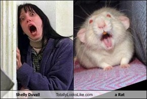 Shelly Duvall Totally Looks Like a Rat