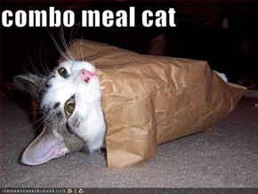 combo meal cat