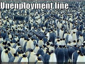 Unenployment line