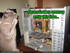 Pleaze God, no memory error this time...
