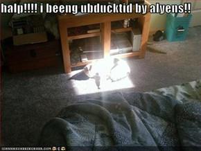 halp!!!! i beeng ubducktid by alyens!!