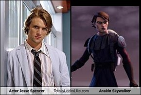 Actor Jesse Spencer Totally Looks Like Anakin Skywalker