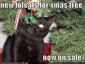 new lolcats for xmas tree  now on sale