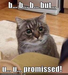 b... b... b... but...  u... u... promissed!