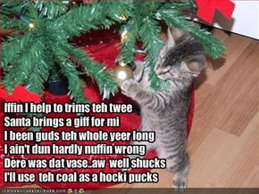 Iffin I help to trims teh twee