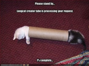 Longcat creator tube is processing your request.