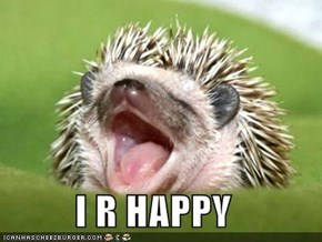 I R HAPPY