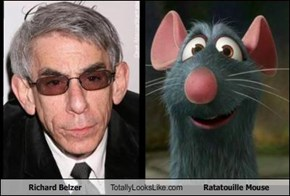 Richard Belzer Totally Looks Like Ratatouille Mouse