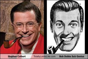 Stephen Colbert Totally Looks Like Bob Dobbs Sub Genius
