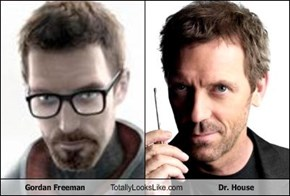 Gordan Freeman Totally Looks Like Dr. House