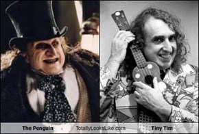 The Penguin Totally Looks Like Tiny Tim