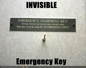 INVISIBLE  Emergency Key